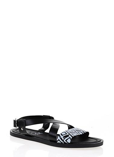 Koton Sandalet Siyah